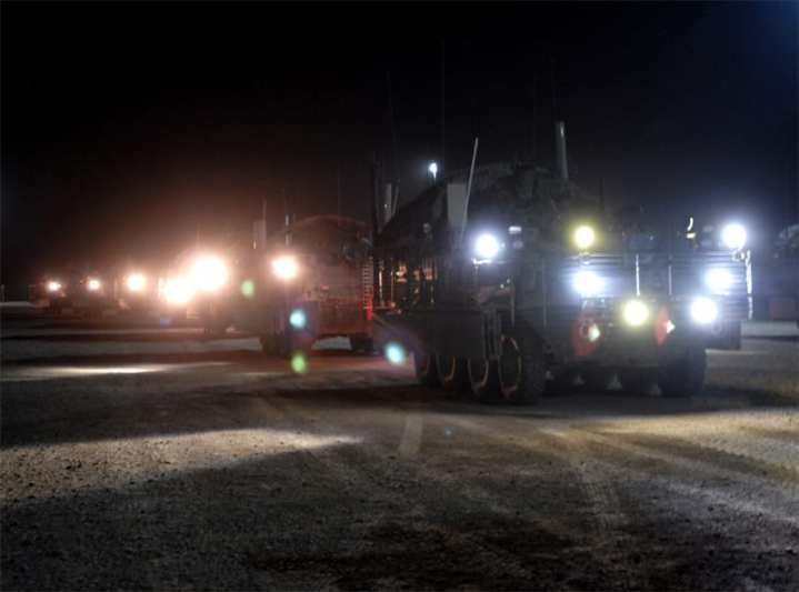 Strykers Leave Iraq