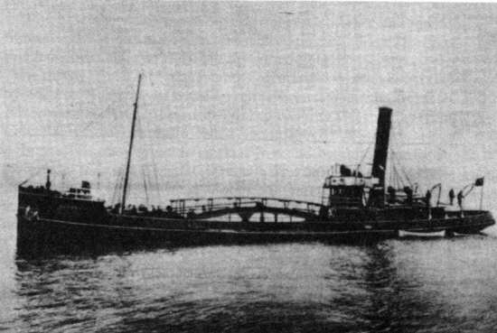 A Hooper barge such as the one above was used as an assault craft during the raid. Photo courtesy of arnhemjim