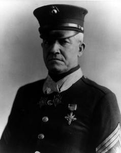 Sgt. Maj. Daniel Joseph Daly, a double recipient of the Medal of Honor. U.S. Marine Corps Archives & Special Collections photo