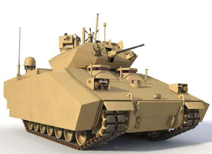 A BAE Systems rendering of a notional Ground Combat Vehicle (GCV). Imagery courtesy of BAE Systems