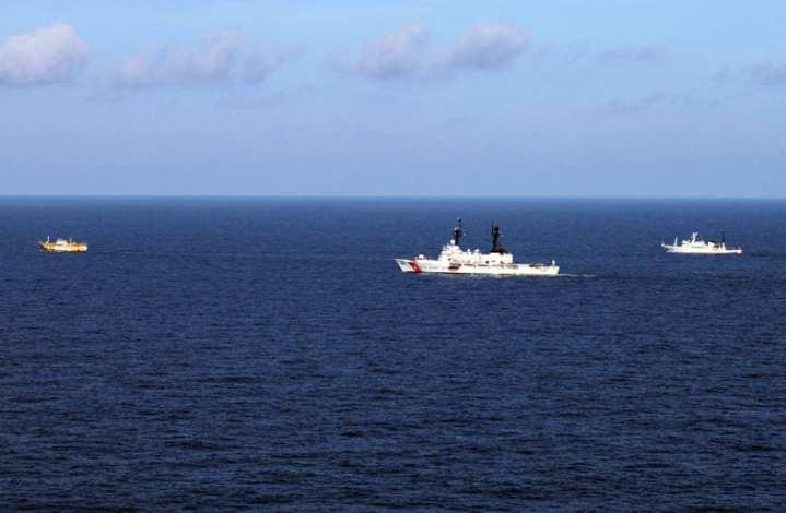 CGC Rush, high seas drift net fishing