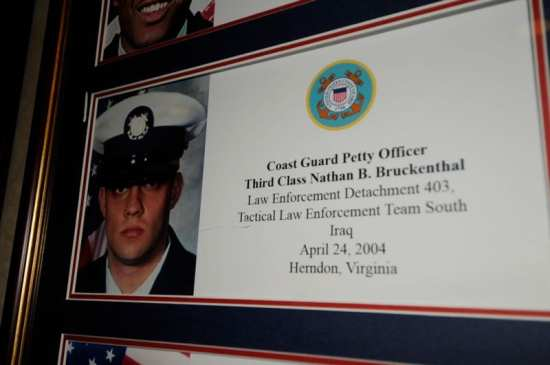 Coast Guard Petty Officer 3rd Class Nathan B. Bruckenthal