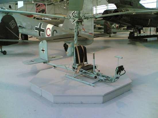 Fa 330 gyrocopter