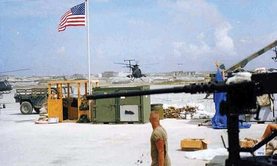 AH-6 little birds launch at battle mogadishu