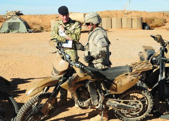 Christini 450cc motorcycle