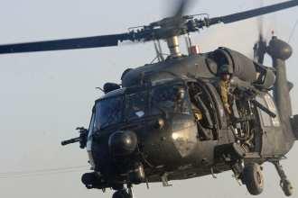MH-60 black hawk 7.62mm minigun