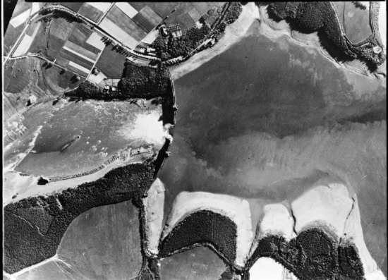 Möhne Dam Aerial Reconnaissance Photo