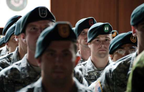 Special forces qualification- course graduates 2012