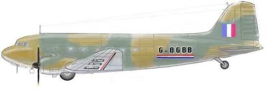 BOAC Flight 777-A rendering
