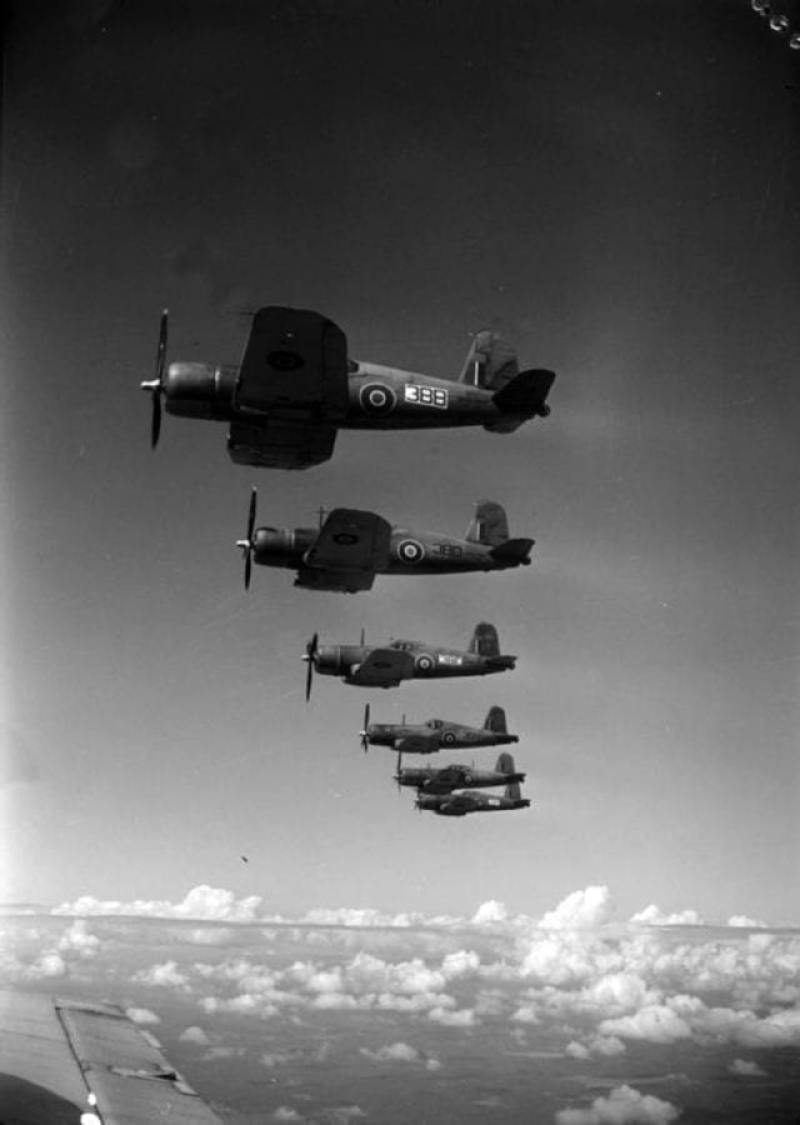 Royal Navy Corsairs