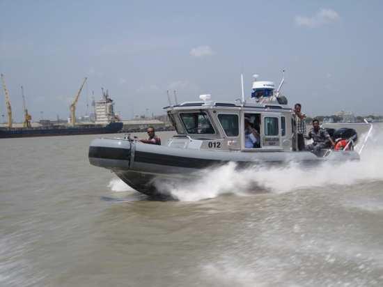 Safeboat Defender USCG