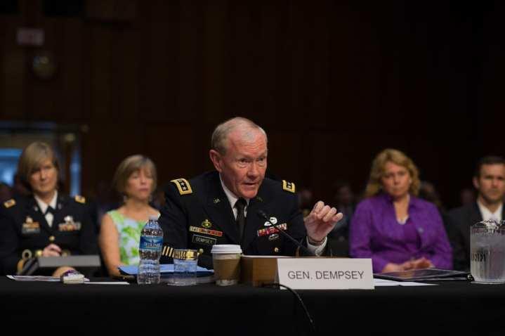 McCain blocks CJCS Dempsey nomination