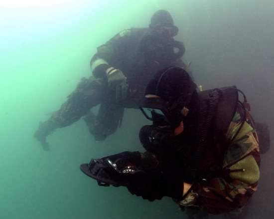 SEAL Combat Swimmers