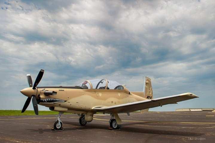 AT-6 airframe AT-3