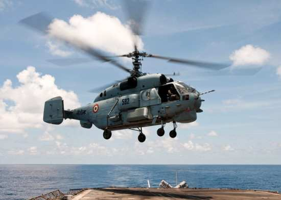 Ka-28 at Ex Malabar USN