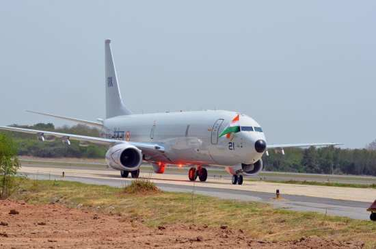 Indian Navy ISR P-8I arrives