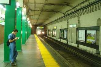 Boston subway bio-detection