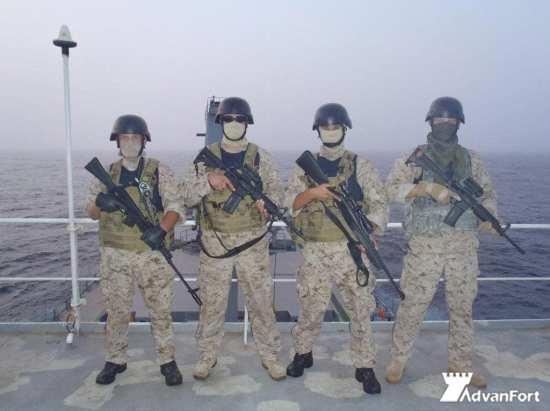 AdvanFort personnel