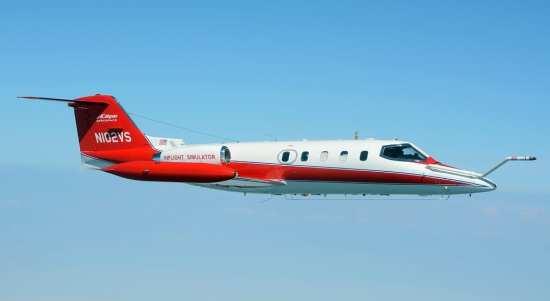 Calspan Learjet