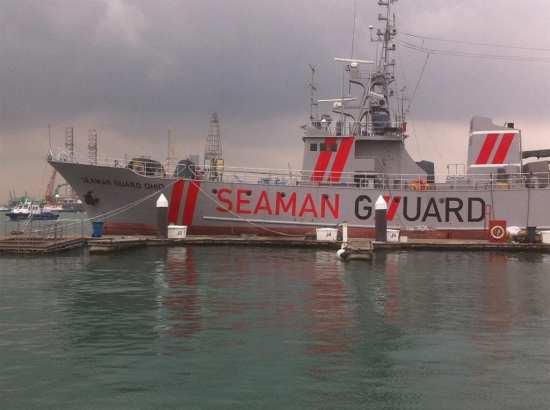 Seaman Guard Ohio tied up