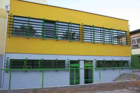 USACE built primary school in Serbia