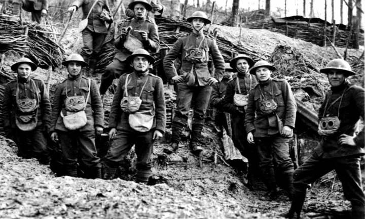World War I Marines