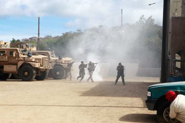 Marine Infantry Immersive Training