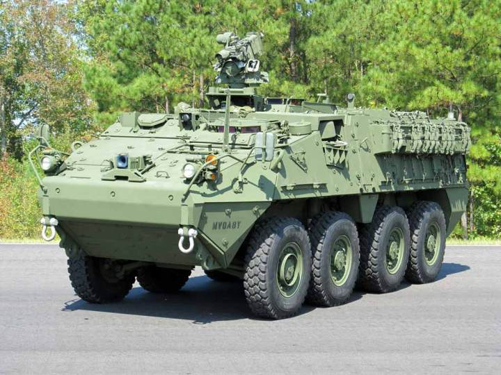 Stryker Double-V Hull