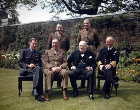 Prime Minister Winston Churchill