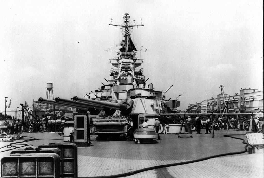The 70th Anniversary of the Launching of the USS Missouri