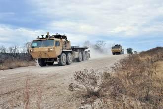 Autonomous Army Convoy