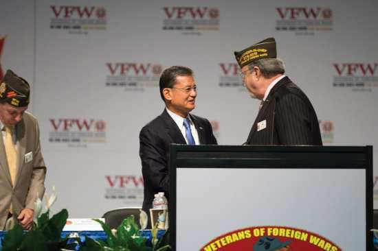 Secretary of the U.S. Department of Veterans Affairs Eric K. Shinseki