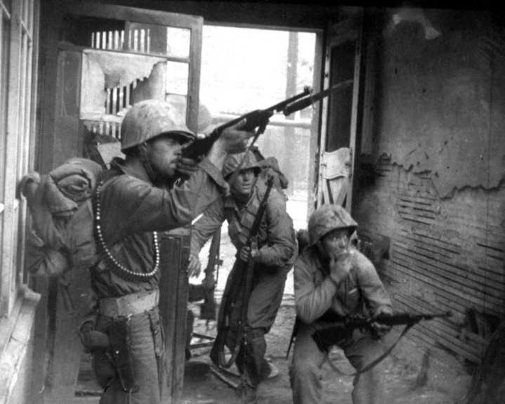 Fighting in Seoul