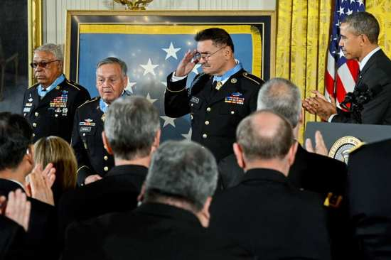 Medal of Honor Ceremony