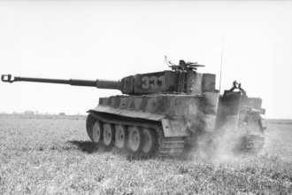 Tiger I in France