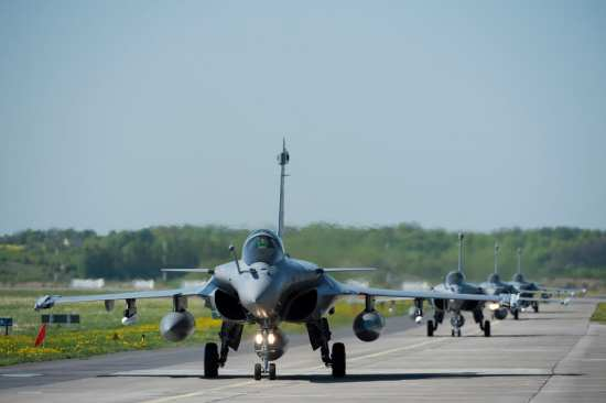 French Air Force Rafales