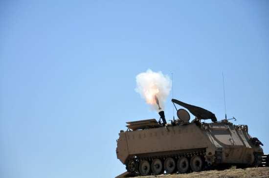 M113 Mortar Carrier