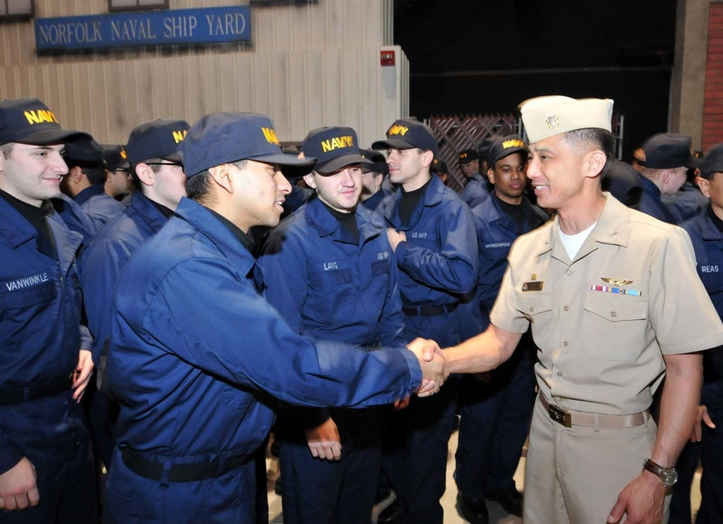 Interview With Capt Steven D Nakagawa Commanding