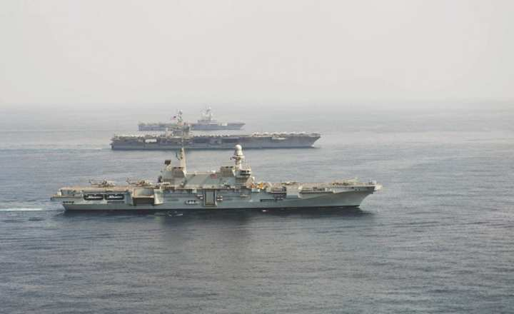 3 aircraft carriers