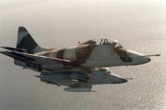 TA-4 Adversary aircraft