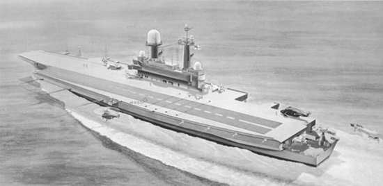 HMS Queen Elizabeth port stern