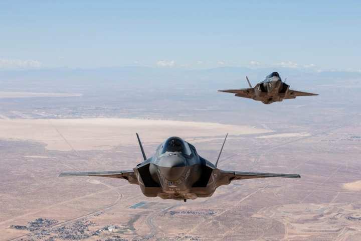F-35B formation