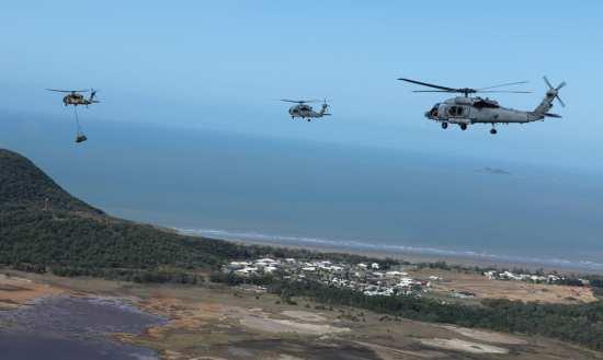 Australian, U.S.-helicopters
