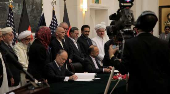 Afghanistan Bilateral Security Agreement