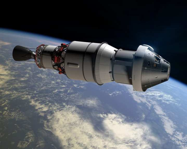 Orion EFT-1 concept