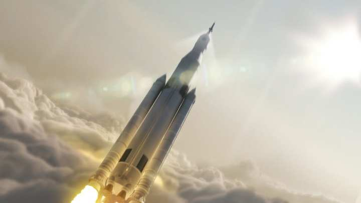 SLS Orion names into spaceSLS Orion names into space