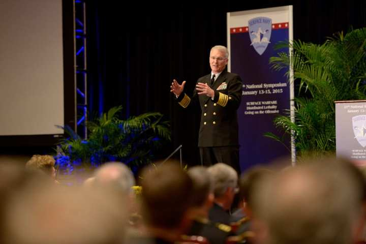 Surface Navy Association symposium