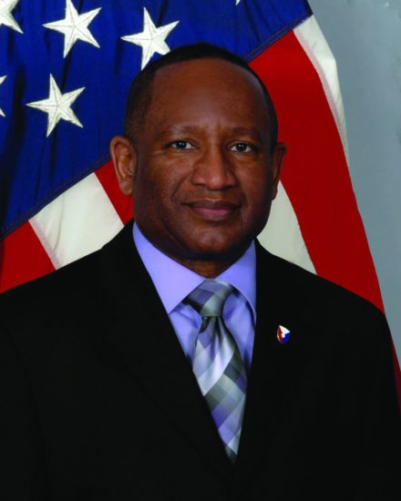 Army Materiel Command Ombudsman Jesse Barber. AMC photo