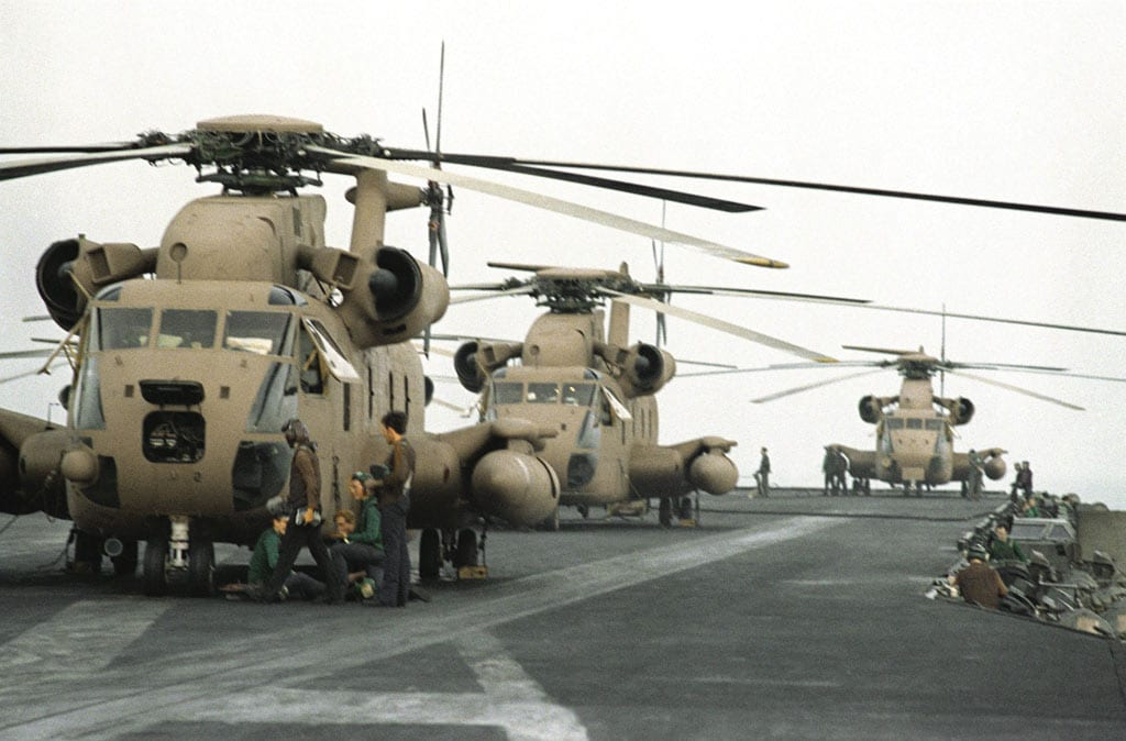 RH-53s Iran Operation