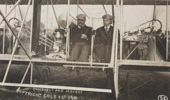 Roosevelt first flight